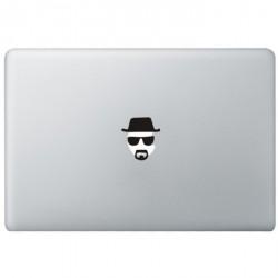 Breaking Bad Heisenberg MacBook Decal