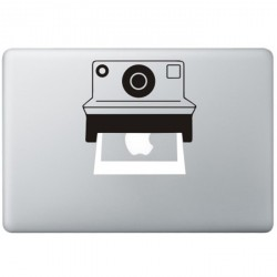 Polaroid Camera MacBook Sticker