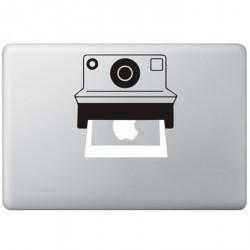Polaroid Camera MacBook Sticker