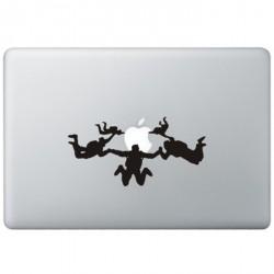 Skydiving MacBook Sticker