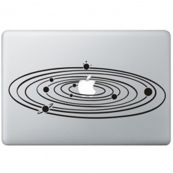 Milky Way MacBook Sticker