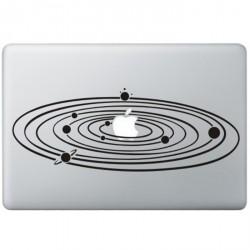 Milky Way MacBook Sticker