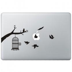 Vogels MacBook Sticker