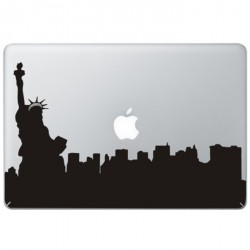 New York Statue of Liberty MacBook Sticker