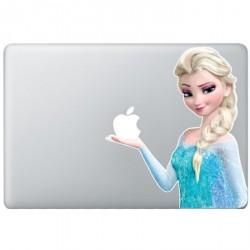 Elsa Frozen MacBook Sticker