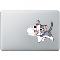 Happy Cat MacBook Decal