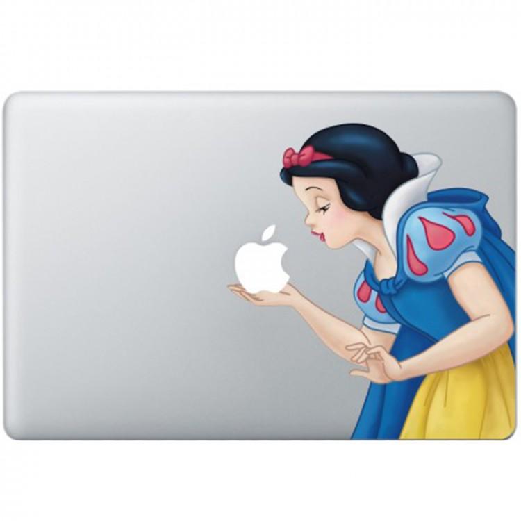 Sneeuwwitje Kleur (2) MacBook Sticker Gekleurde Stickers