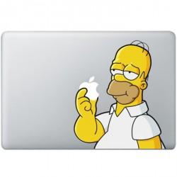 Homer Simpsons MacBook Sticker