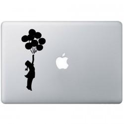 Banksy Ballon MacBook Decal