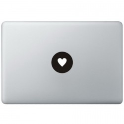 Love Logo MacBook Sticker
