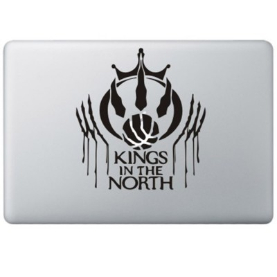 Game Of Thrones MacBook Stickers Zwarte Stickers