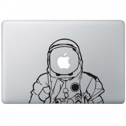 Astronaut MacBook Sticker