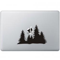 E.T. Tree MacBook Sticker