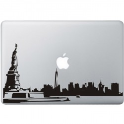 New York City MacBook Sticker