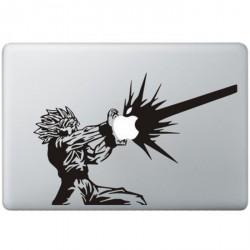 Dragon Ball Z Vegeta MacBook Decal