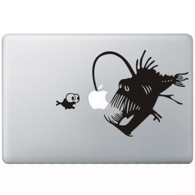 Koraal Duivel MacBook Sticker