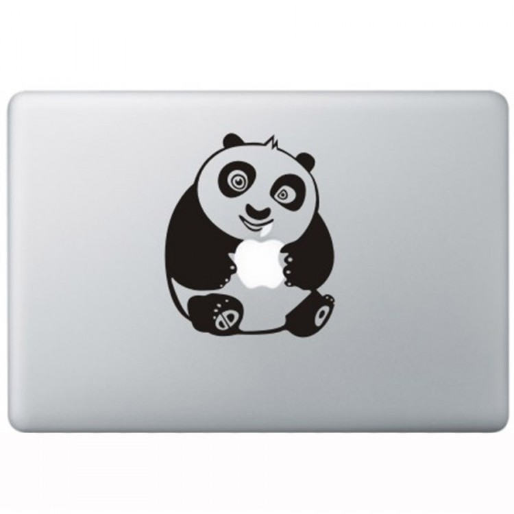 Kung Fu Panda MacBook Sticker Zwarte Stickers