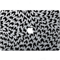 Optische Illusie Macbook Sticker