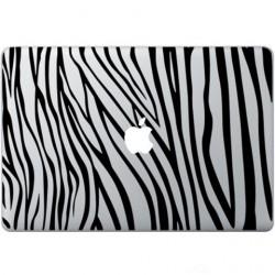Zebra Print Macbook Decal
