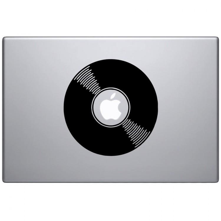 Vinyl Plaat Macbook Sticker MacBook Stickers