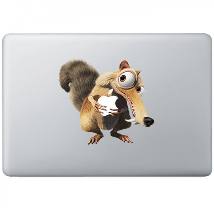 Ice Age MacBook Sticker Gekleurde Stickers