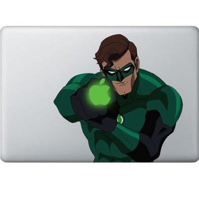 Green Lantern MacBook Sticker Gekleurde Stickers