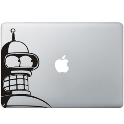 Futurama Bender MacBook Sticker