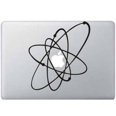 Atoom MacBook Sticker