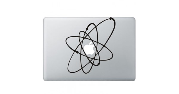 Atoom Macbook Sticker Kongdecals